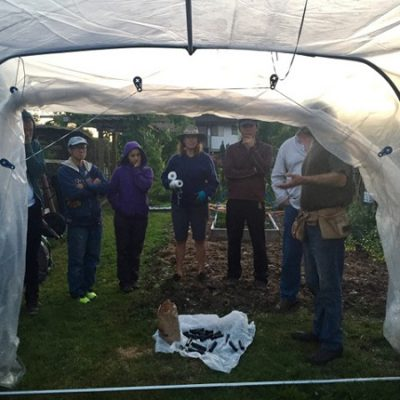 Growing Food in the City Certificate – 2016 Hoop House